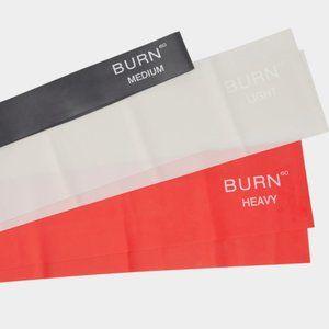 Burn 60 Resistance Bands for Fitness - Set of 3